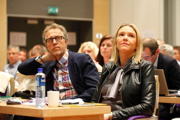 Landbruksminister Sylvi Listhaug var en av tilhørerne.