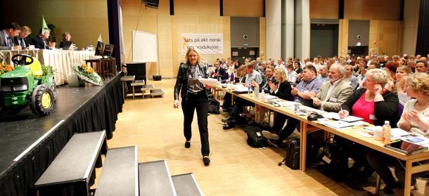 Landbruksminister Sylvi Listhaug (FrP)