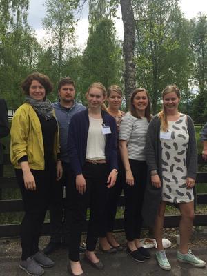 NBU sin delegasjon på årsmøtet.