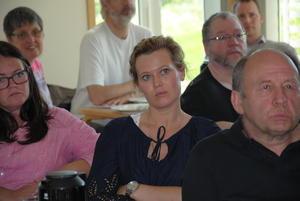 Kjersti Fremstad fra Senterpartiet. Rundt henne sitter Kari Anne Jønnes (H), Anlaug Sejemark (Mdg), Knut Klevmark (Mdg), Finn Olav Roligjordet (Rødt) og Johannes Dyste