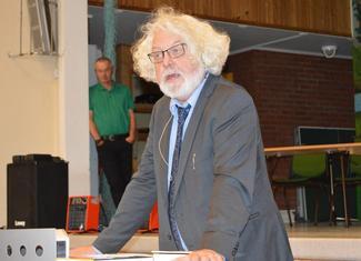 Forfatter Edvard Hoem.
