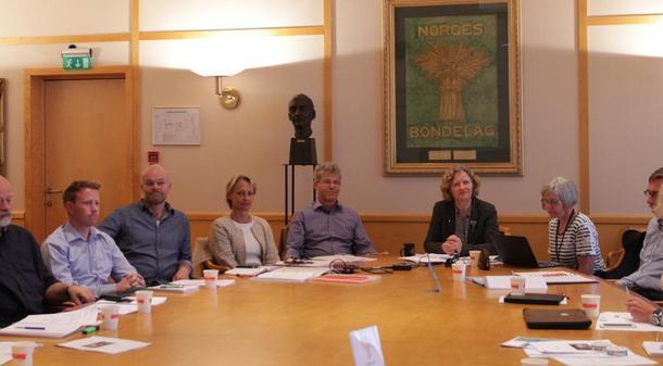 Arbeidsmøte om dyrevelfred og psykisk helse. Foto: Lise Boeck Jakobsen