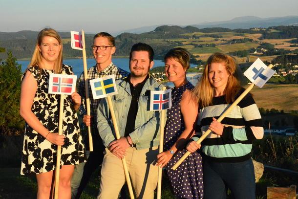 Også ungdomsorganisasjonene var representert i Trøndelag.