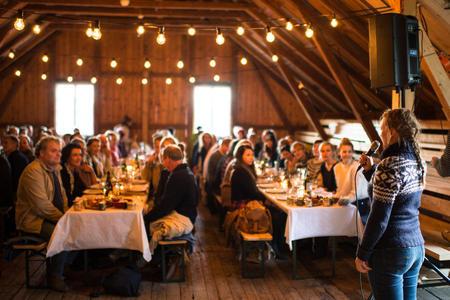 Økouka 4014, låvefest. Foto: Svein Gunnar Kjøde