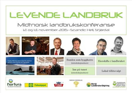 Collage Levende Landbruk Midtnorsk Landbrukskonferanse 2015