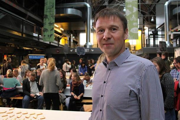 Lars Petter Bartnes deltok på statsministerens kontaktutvalg i dag. Bildet er tatt ved en tidligere anledning.