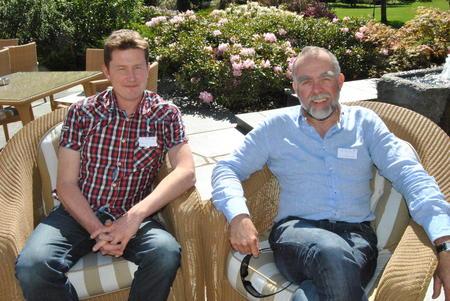 Inge Martin Karlsvik (t.v.) og Lars Morten Rosmo