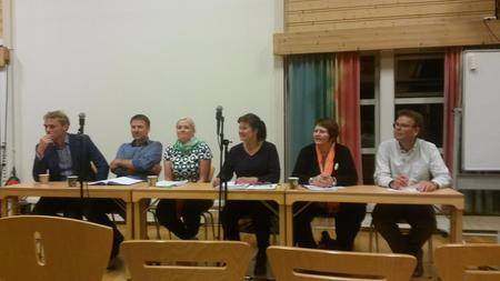 Paneldebatt Øya vgs 2015 Sør-Trøndelag Bondelag