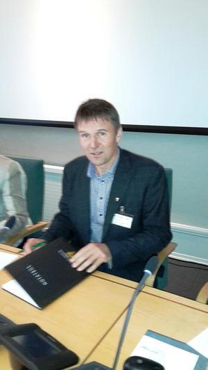 Lars Petter Bartnes i Stortinget torsdag ettermiddag.