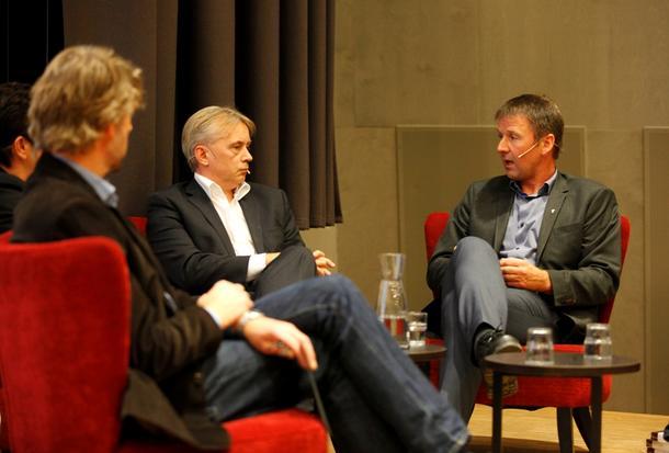 - Vi er i ferd med å kapitalisere næringa, sa bondelagsleder Lars Petter Bartnes.