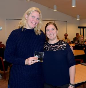 INVITERT: Organisasjonssjef Anne Marit Igelsrud fra Nord-Trøndelag Bondelag og gjenvalgt leder Anette Liseter.