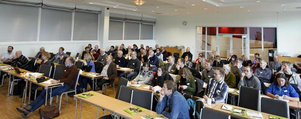 Rundt 90 personer deltok på Landbruksnæringas kompetansekonferanse på Scandic Hell Hotell tirsdag.