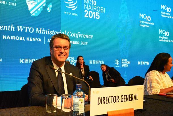 Generaldirektør i WTO Roberto Azevedo