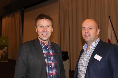 Lars Petter Bartnes og Odd Christian Stenerud.