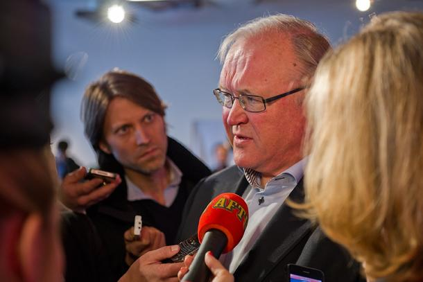Statsminister i Sverige fra 1996 til 2006, Göran Persson, kommer til Stjørdal for å innlede på et åpent møte om klima og landbruk. Persson er selv bonde. (Foto: Anders Löwdin, Socialdemokraterna)