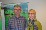 Anders Øverbø og Wenche Ytterli