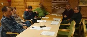 På møtet: 11 medlemmer deltok.