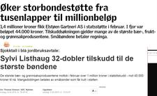 Faksimile nationen.no og abcnyheter.no