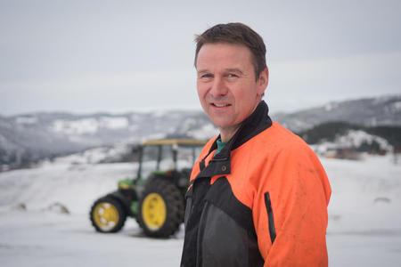 Leder Lars Petter Bartnes, Norges Bondelag. Foto: Håvard Zeiner