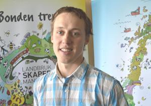 Vegard Smenes, styremedlem i Møre og Romsdal Bondelag