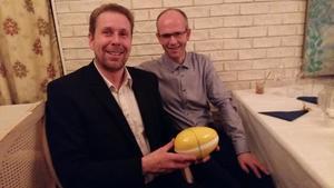 Sel og Vågå Bondelag, her representert ved Anders Formo og Per Anton Eide.