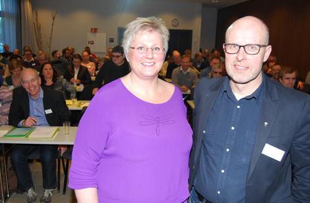 Brita Skallerud og Erling Aas-Eng, Hedmark Bondelags årsmøte 2016