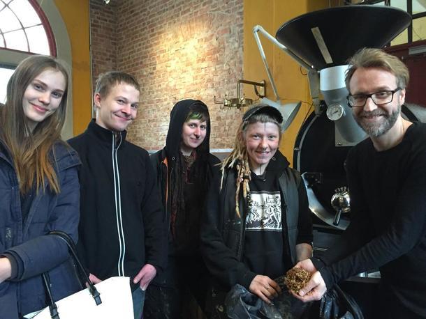 Chaff fra kaffebrenneriet på Losæter