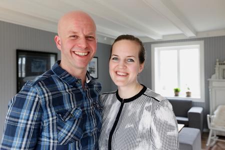 Jørund og Silje Eggen har mange planer for gården, men er avhengig av forutsigbarhet fra lokalpolitikerne.
