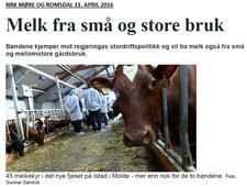 Omtale i NRK Møre og Romsdal 11. april - klikk på bildet