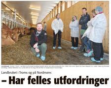 Reportasje i avisa Driva 13. april - klikk på bildet