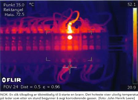 termografering