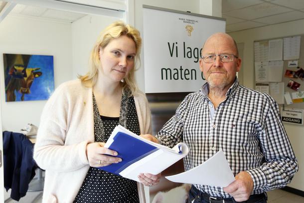 Organisasjonssjef Anne Marit Igelsrud og fylkesleder Asbjørn Helland er svært misfornøyde med statens tilbud.