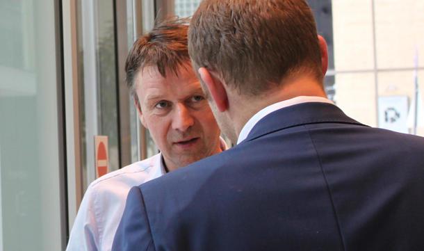 Bondelaget, her ved leder Lars Petter Bartens, kom søndag til enighet med staten om en jordbruksavtale for 2017.
