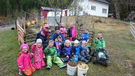 Klæbu Bondelag og Jonettaplassen barnehage