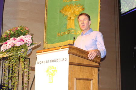 Lars Petter Bartnes sin tale på årsmøte 2016