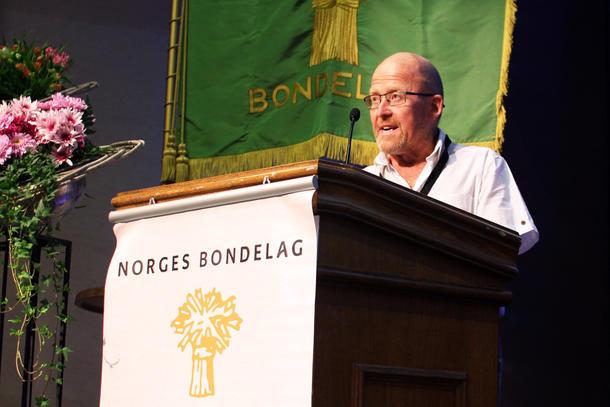 - Matsikkerheten i Norge blir krevende, tross god kjøpekraft, sa Asbjørn Helland. (Foto: Elisabeth Sæther)