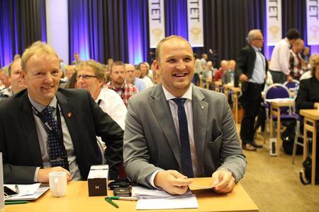 Jon Georg Dale på Bondetinget