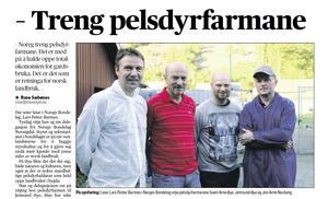 Les omtale i Møre-Nytt 18. august - klikk på avisbildet