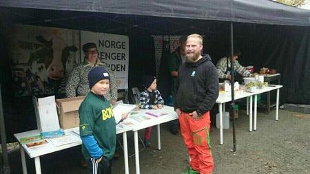 Familien Heim representerte Troms Bondelag