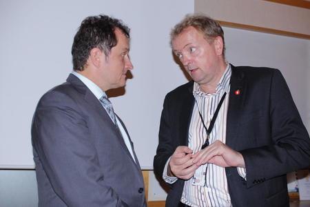 Møte mellom Yves Leduc og Terje Halleland