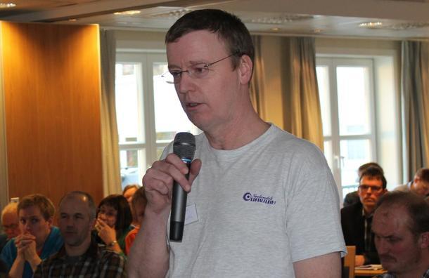 TOK ATTVAL: Einar Malvin Duvold held fram som leiar i Gloppen Bondelag.
