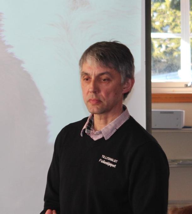 NY LEIAR I NAUSTDAL BONDELAG: Arild Herstad.
