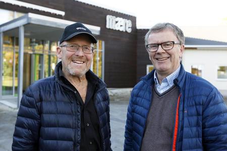 Asbjørn Helland og Rolf Wensbakk