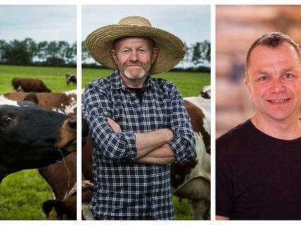 Kolbjørn Anda og Anders Eggen vil fortelle om sine erfaringer med økologisk produksjon på sine gårder.