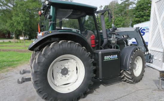 Traktor på biogass