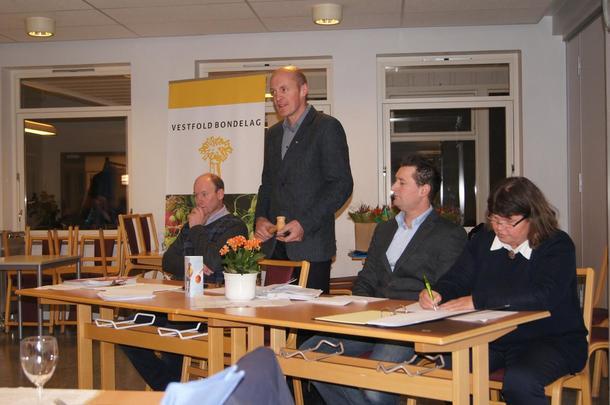 Lokallagsleder Trond Kristian Bettum  ledet årsmøtet