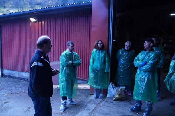 Me besøkte også Hogne Bjørklund.