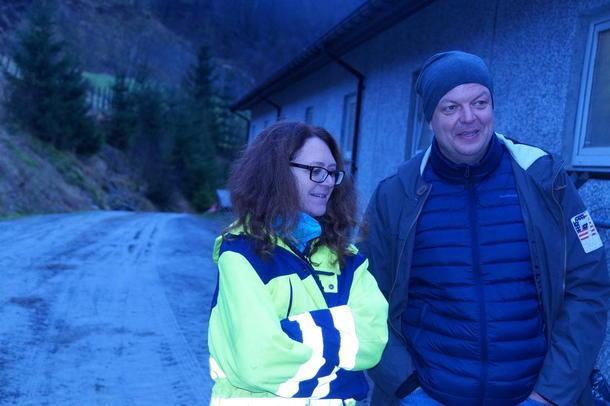 Fylkesleiar i Sogn og Fjordane Arbeiderparti Hilmar Høl, og stortingsrepresentant Ingrid Heggø.