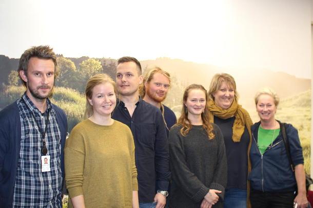 Interimstyret i Oslo Bybondelag: Andreas Lunder, Anita Natvik, Sigurd Vestrheim, Morten Lønmo, Eirin Sture, Helene Gallis og Solvor Wiig.