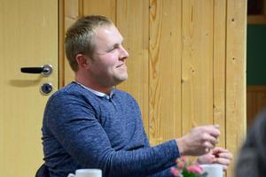 INNLEGG: Tore Kaldahl hadde flere innlegg på årsmøtet.